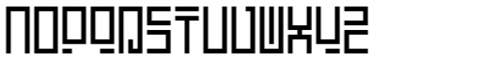 Encrypted Wallpaper Font LOWERCASE