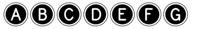 Endast Font LOWERCASE