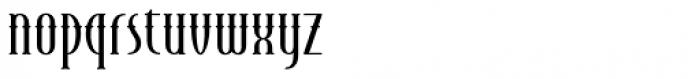 Endeavora Western Font LOWERCASE