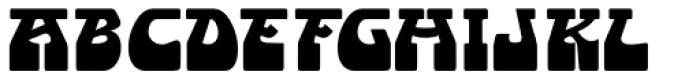 Endless Sixties JNL Font LOWERCASE