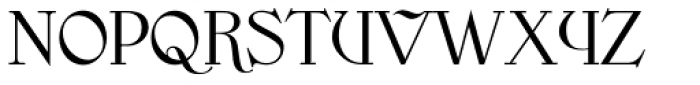 Endoradine Font UPPERCASE