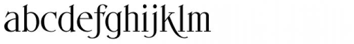 Endoradine Font LOWERCASE