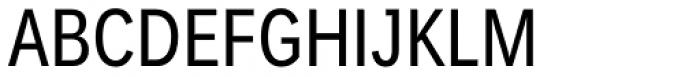 Endurance WGL Condensed Regular Font UPPERCASE