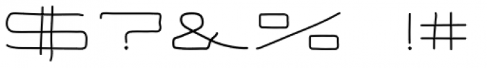 Eneas Expanded Regular Font OTHER CHARS