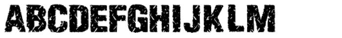 Enema Bold Font UPPERCASE