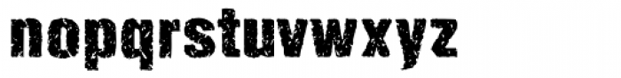 Enema Bold Font LOWERCASE