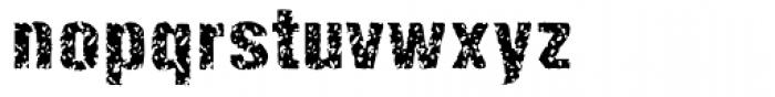Enema Font LOWERCASE