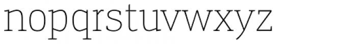 Engel New Serif Extra Light Font LOWERCASE