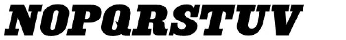 Engine Company Oblique JNL Font UPPERCASE