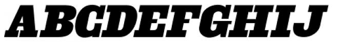 Engine Company Oblique JNL Font LOWERCASE