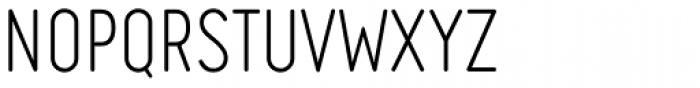 Engineer Light Font UPPERCASE