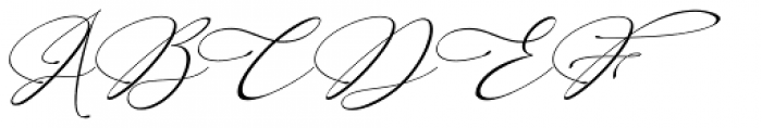 England Reality Italic Font UPPERCASE