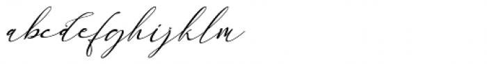 England Reality Italic Font LOWERCASE