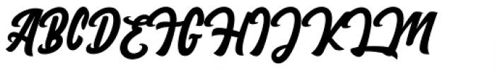 England Script Regular Font UPPERCASE