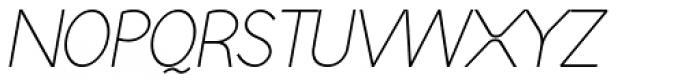 Englandia Light Italic Font UPPERCASE