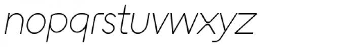 Englandia Light Italic Font LOWERCASE