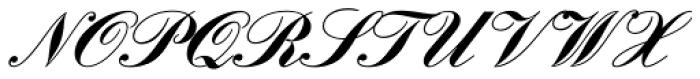 Englische Schoolbook Joined Bold Font UPPERCASE