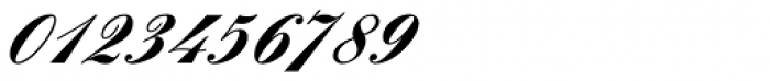 Englische Schreibschrift BQ One Bold Font OTHER CHARS