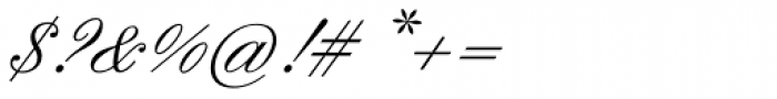 Englische Schreibschrift BQ One Font OTHER CHARS