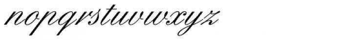 Englische Schreibschrift BQ One Font LOWERCASE