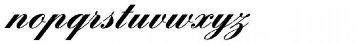 Englische Schreibschrift BQ Two Bold Font LOWERCASE