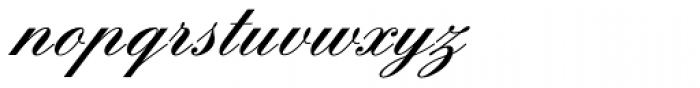 Englische Schreibschrift BQ Two Medium Font LOWERCASE