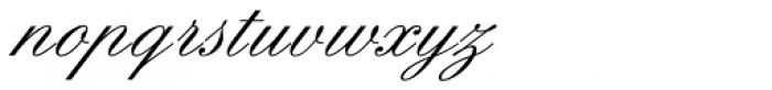 Englische Schreibschrift BQ Two Font LOWERCASE