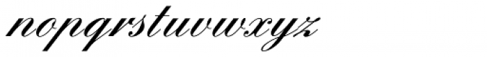 Englische Schreibschrift Demi Bold Font LOWERCASE