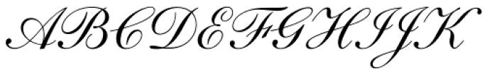 English 111 Adagio Font UPPERCASE