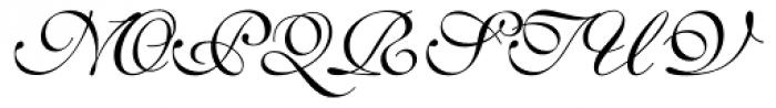 English 111 Presto Font UPPERCASE