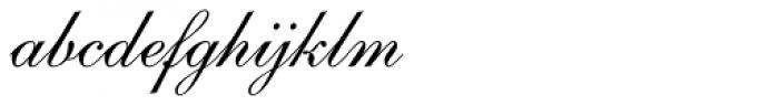 English 111 Presto Font LOWERCASE
