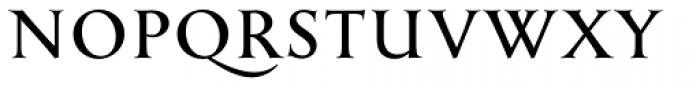 English Engravers Roman Bold Font UPPERCASE