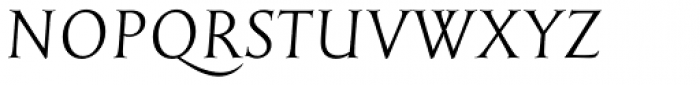 English Engravers Roman Italic Font UPPERCASE