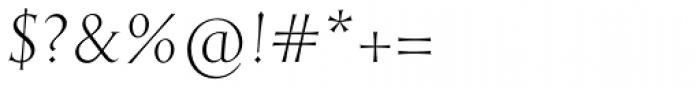 English Engravers Roman Light Italic Font OTHER CHARS