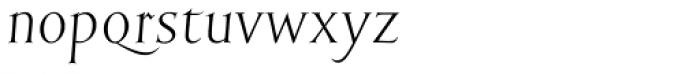 English Engravers Roman Light Italic Font LOWERCASE