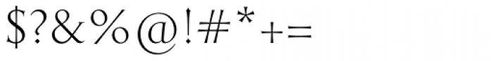English Engravers Roman Light Font OTHER CHARS