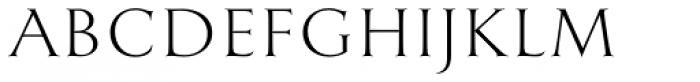 English Engravers Roman Light Font UPPERCASE
