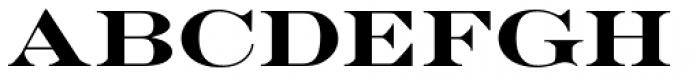 Engravers D Bold Font UPPERCASE