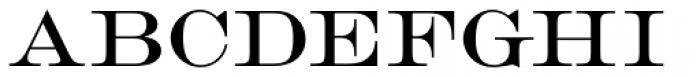 Engravers D Roman Font UPPERCASE