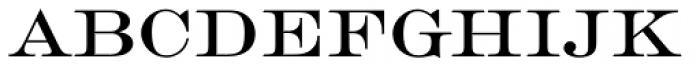 Engravers D Roman Font LOWERCASE