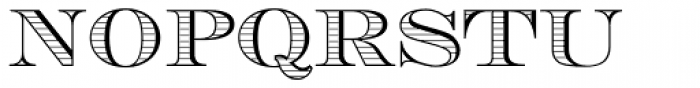 Engravers DT Shaded Font UPPERCASE