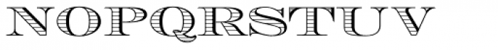 Engravers DT Shaded Font LOWERCASE