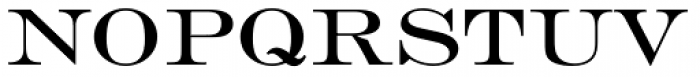 Engravers EF Roman Font UPPERCASE