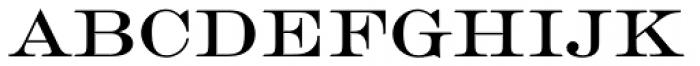 Engravers EF Roman Font LOWERCASE