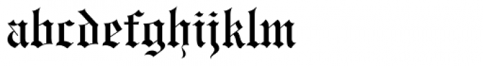 Engravers Old English BT Font LOWERCASE