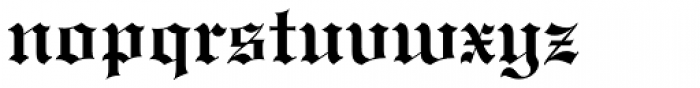 Engravers Old English Bold Font LOWERCASE