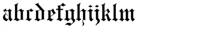 Engravers Old English MT Font LOWERCASE