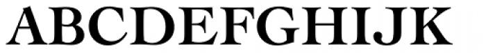 Engravers Oldstyle 205 Bold Font UPPERCASE