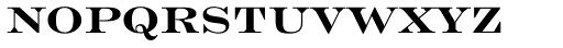 Engravers Roman Bold BT Font LOWERCASE