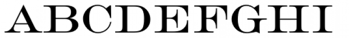 Engravers Roman Font UPPERCASE